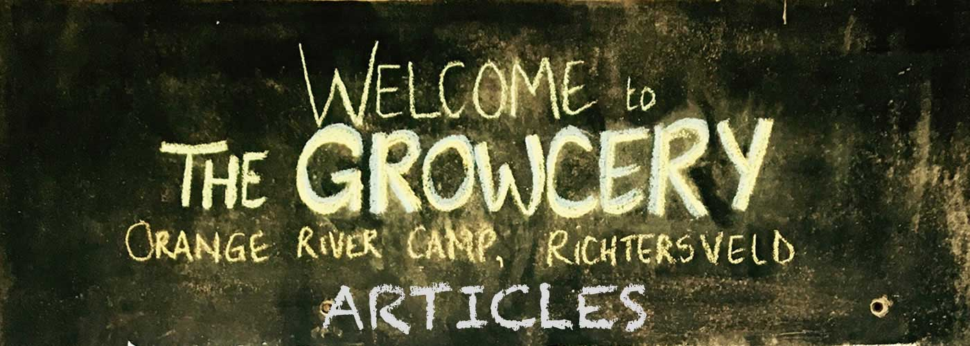 The Growcery Articles