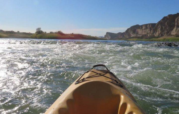 Full day rafting trail