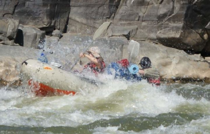 River Rafting for Students